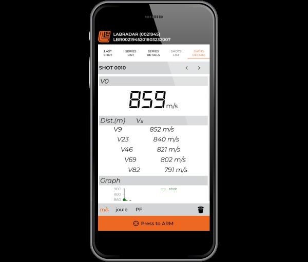 Labradar mobile app